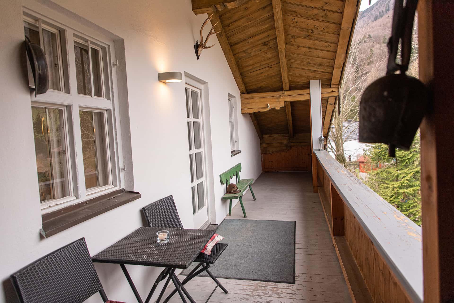 Balkon, Ferienwohnung Das Lissi, Haus Elisabeth