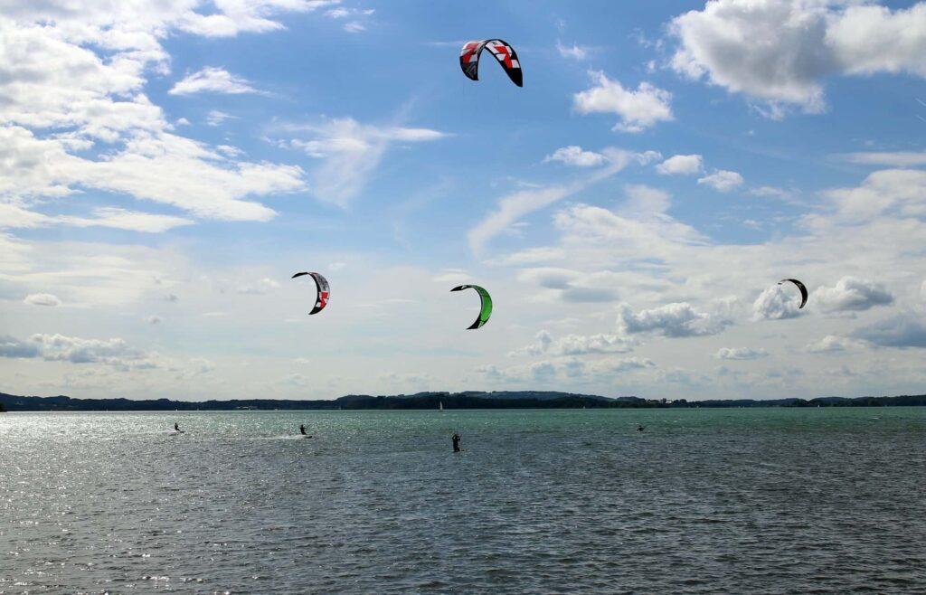 Kite Surfen am Chiemsee