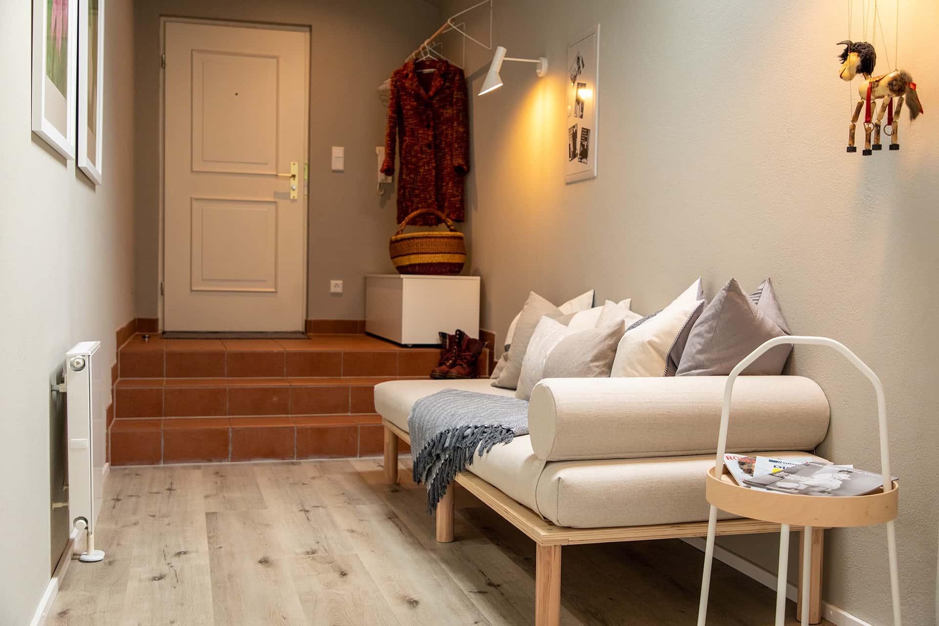 Eingangsbereich Ferienwohnung Das Lissi in Aschau, Haus Elisabeth