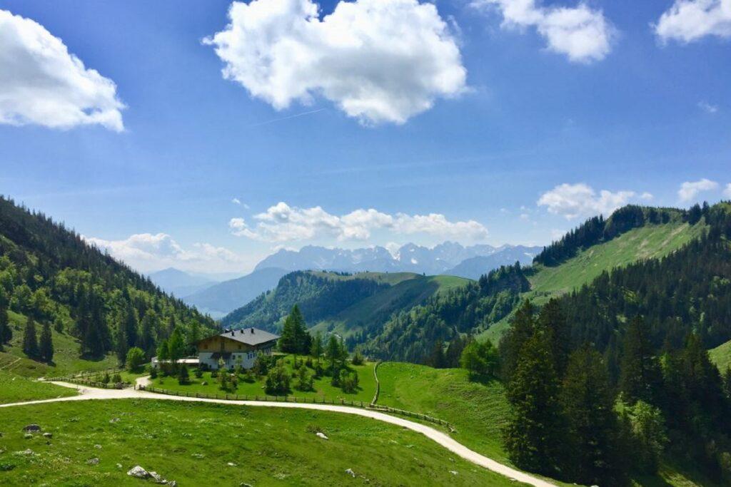 Wandern zur Priener Hütte bei Aschau