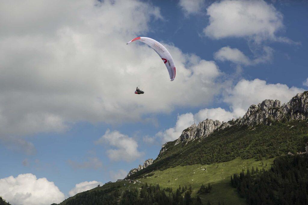 Gleitschirmfliegen in Aschau