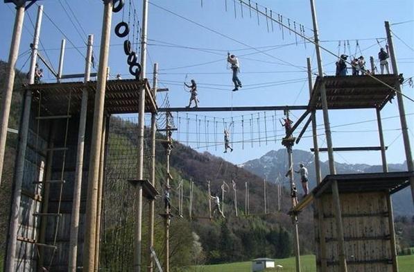 Hochseilgarten Kletterpark Aschau