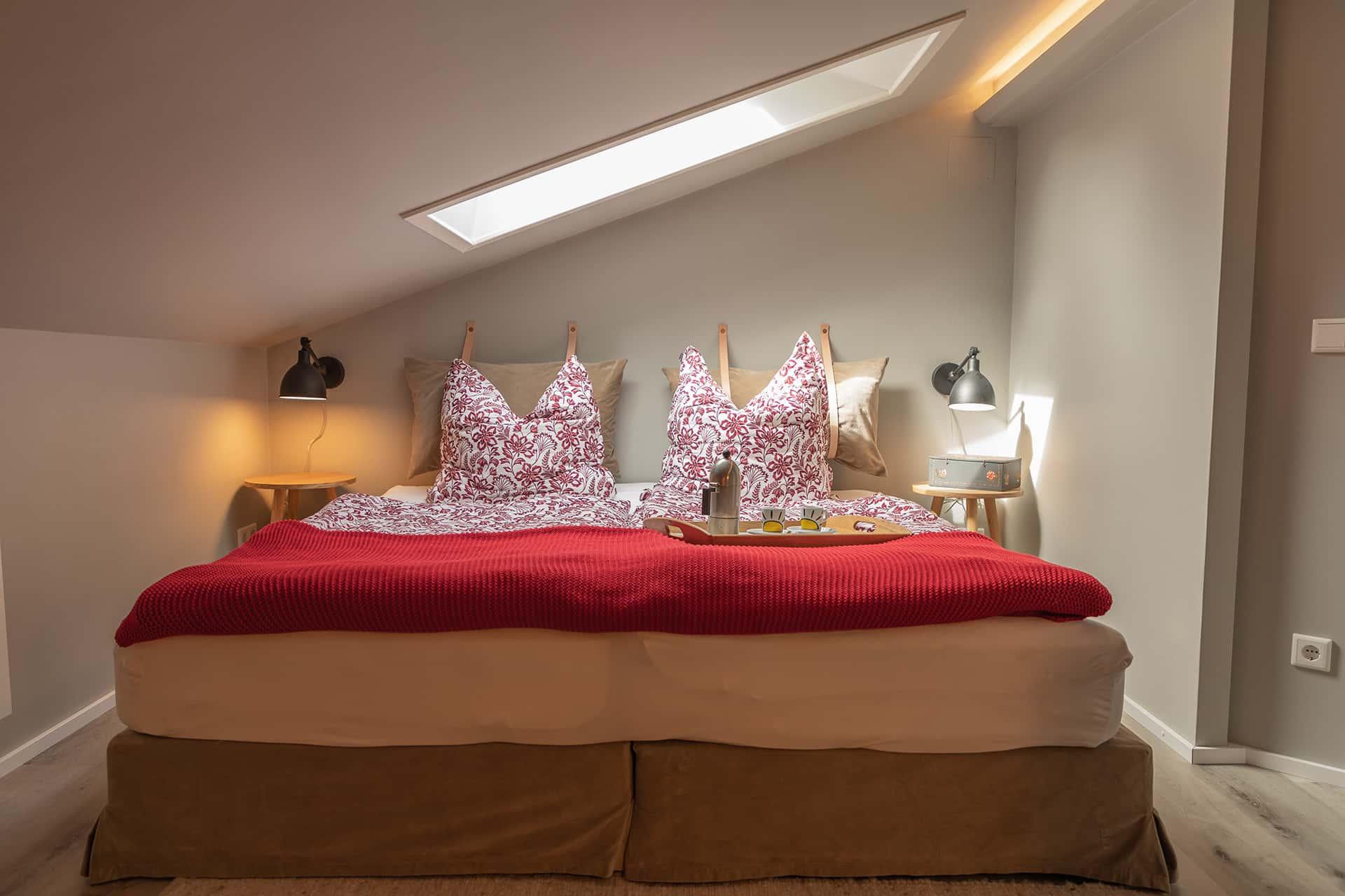 Schlafzimmer, Ferienwohnung Das Lissi, Haus Elisabeth