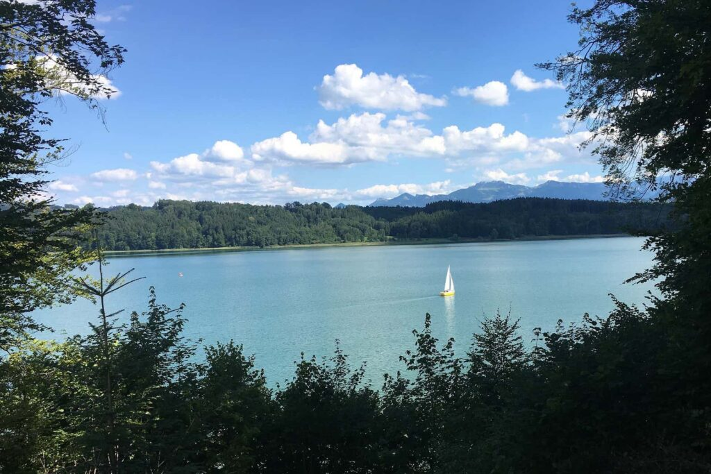 Simsee im Chiemgau