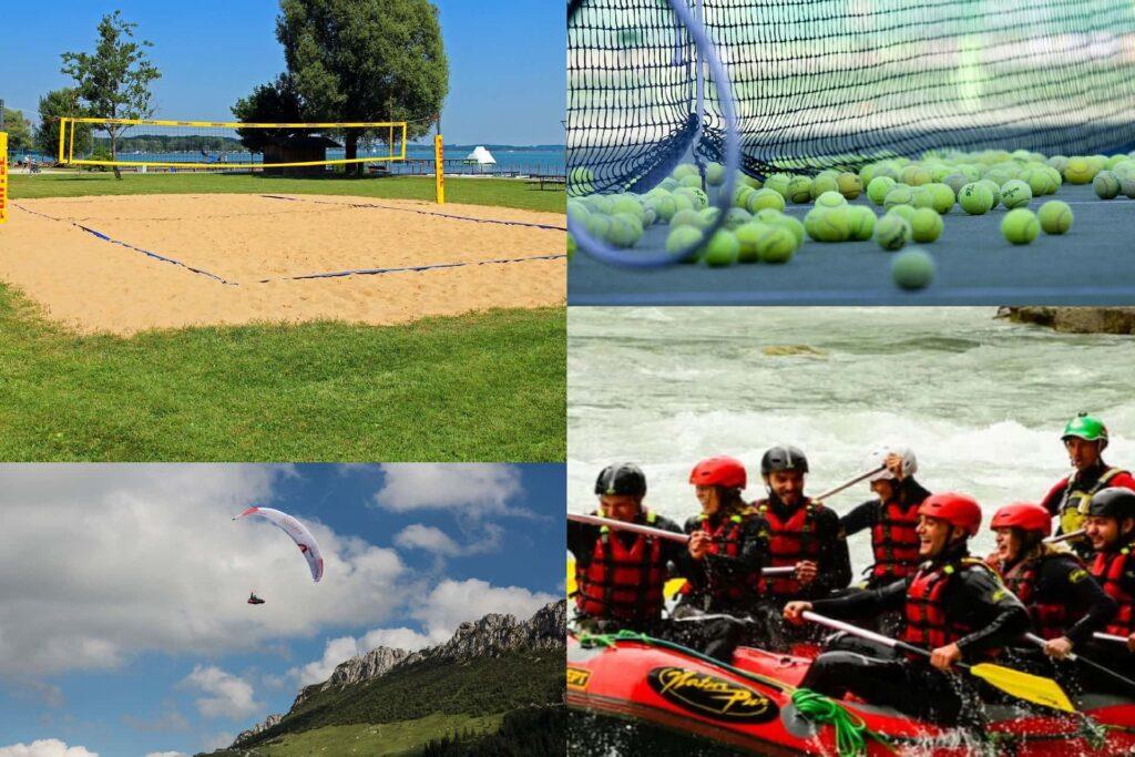 Sportmöglichkeiten in der Umgebung von Aschau