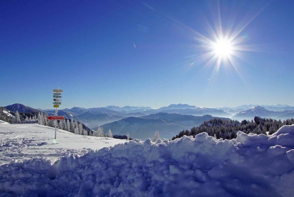 Kampemwand Skifahren