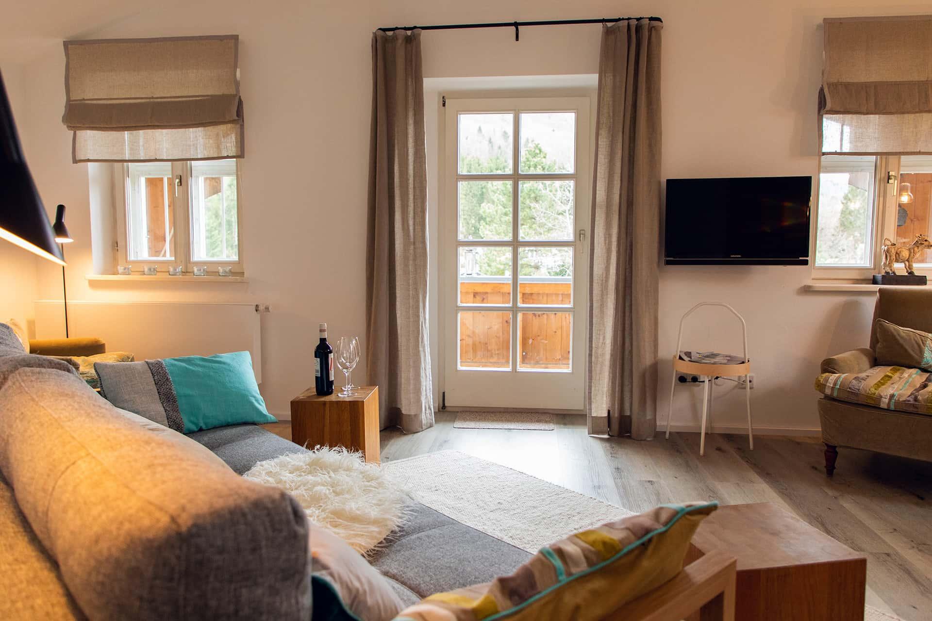 Wohnzimmer, Ferienwohnung Das Lissi, Haus Elisabeth